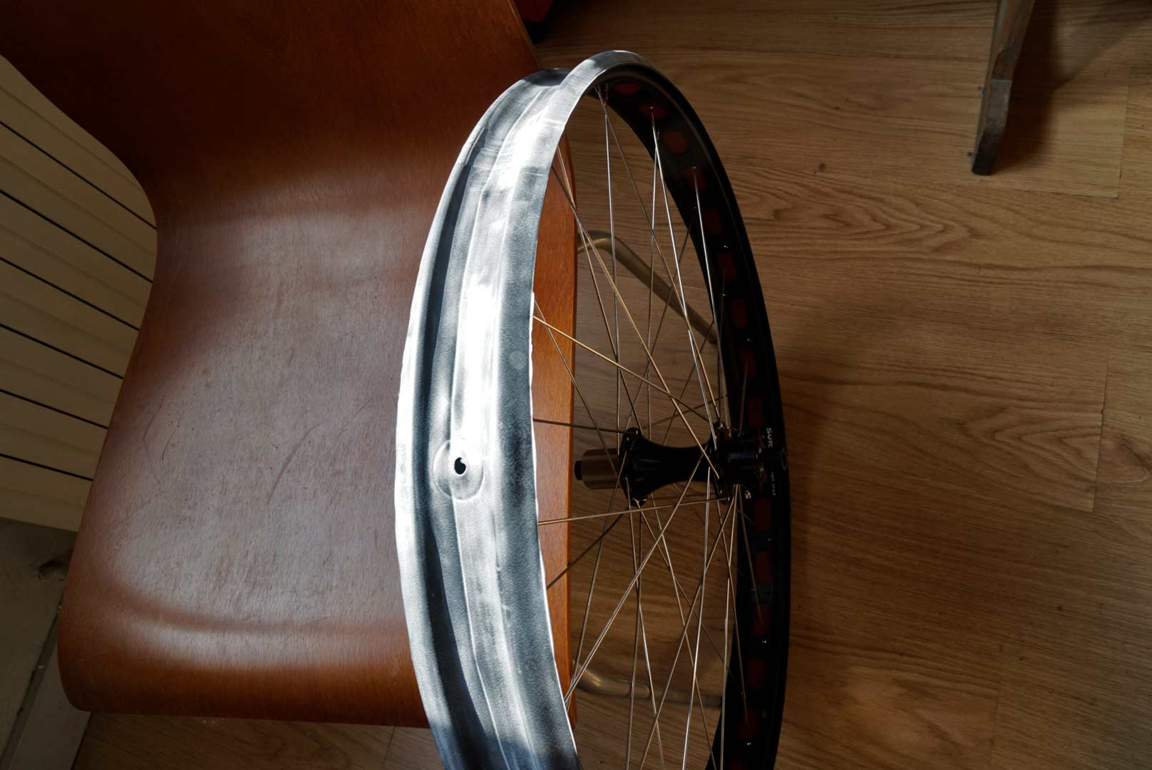 Split tube ghetto tubeless on 29+